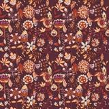 Teste padrão de flor, textura sem emenda Fotos de Stock