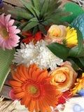 Teste padrão de flor tropical Foto de Stock