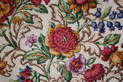 Teste padrão de flor velho Foto de Stock