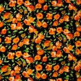 Teste padrão de flores útil para texturas Imagens de Stock