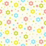 Teste padrão de flores Imagens de Stock