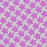 Teste padrão de flores cor-de-rosa Fotografia de Stock Royalty Free