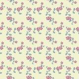Teste padrão de flores decorativo Fotografia de Stock