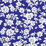Teste padrão de flores pequeno 019 Imagem de Stock