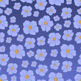 Teste padrão de flores sem emenda Ilustração do Vetor