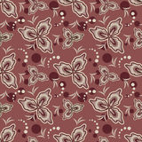 Teste padrão de flores sem emenda Fotos de Stock Royalty Free