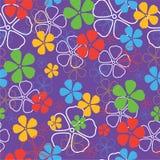 Teste padrão de flores sem emenda Fotografia de Stock Royalty Free