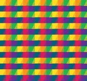 Teste padrão de grade colorido Fotos de Stock