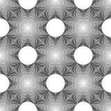 Teste padrão de grade monocromático sem emenda do projeto Fotografia de Stock Royalty Free