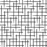 Teste padrão de grade Textura tirada mão Imagem de Stock Royalty Free