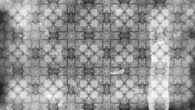 Teste padrão de Gray Vintage Decorative Ornament Wallpaper ilustração do vetor