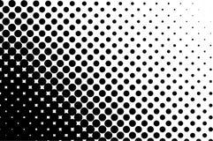Teste padrão de intervalo mínimo Fundo cômico Contexto retro pontilhado com círculos, pontos Rebecca 36 ilustração stock