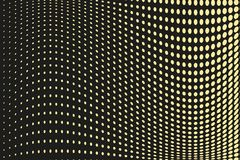 Teste padrão de intervalo mínimo futurista abstrato Fundo cômico O contexto pontilhado com círculos, pontos, aponta a grande esca Fotografia de Stock
