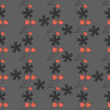 Teste padrão de lamentação com tulipa Imagens de Stock Royalty Free