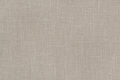 Teste padrão de linho natural do fundo da textura da tela Imagens de Stock Royalty Free
