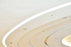 Teste padrão de luzes de teto Imagens de Stock