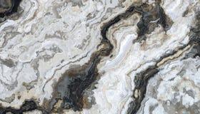 Teste padrão de mármore encaracolado cinzento Foto de Stock