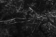 Teste padrão de mármore preto e branco do fundo e da textura com alta resolução imagens de stock