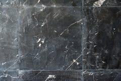Teste padrão de mármore preto tailandês Fotos de Stock