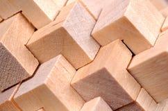 Teste padrão de madeira abstrato Fotografia de Stock Royalty Free