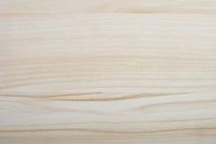 Teste padrão de madeira bege claro Foto de Stock Royalty Free