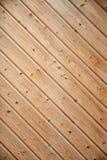 Teste padrão de madeira da parede da textura Fotos de Stock