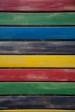 Teste padrão de madeira da parede da textura Imagens de Stock Royalty Free