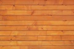 Teste padrão de madeira da parede das pranchas Imagens de Stock Royalty Free