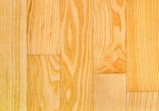 Teste padrão de madeira da textura do fundo do revestimento do parquet de Durmast do carvalho foto de stock