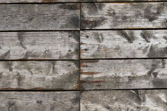 Teste padrão de madeira das pranchas fotografia de stock
