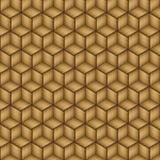 Teste padrão de madeira de bambu da textura sem emenda Foto de Stock Royalty Free