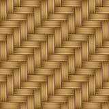Teste padrão de madeira de bambu da textura sem emenda Imagens de Stock Royalty Free