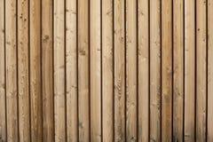 Teste padrão de madeira do fundo da parede Fotos de Stock