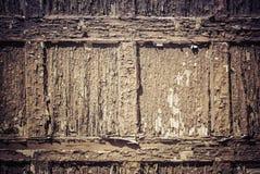 Teste padrão de madeira envelhecido Foto de Stock Royalty Free