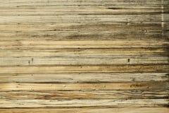 Teste padrão de madeira envelhecido da parede Fotografia de Stock