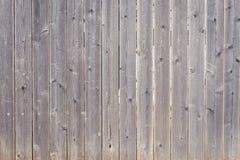 Teste padrão de madeira paralelo da cerca, fundo Fotos de Stock