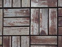 Teste padrão de madeira velho do assoalho do título foto de stock royalty free