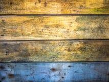 Teste padrão de madeira velho do fundo fotos de stock