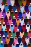 Teste padrão de matéria têxtil Imagens de Stock