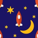 Teste padrão de Moonshot Imagem de Stock