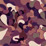 Teste padrão de mosaico abstrato sem emenda Ilustração Stock
