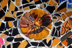 Teste padrão de mosaico aleatório Imagem de Stock Royalty Free