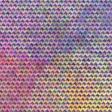 Teste padrão de mosaico colorido Fotografia de Stock