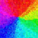 Teste padrão de mosaico colorido Foto de Stock Royalty Free