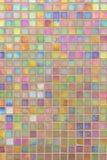 Teste padrão de mosaico colorido fotografia de stock royalty free