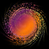 Teste padrão de mosaico colorido do círculo abstrato Fotos de Stock
