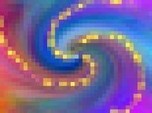 Teste padrão de mosaico colorido do fundo abstrato para seu projeto Imagens de Stock