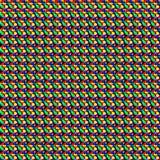 Teste padrão de mosaico da cor Imagens de Stock