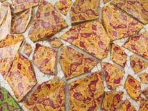 Teste padrão de mosaico detalhe Fotografia de Stock