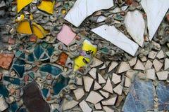 Teste padrão de mosaico do vintage Imagens de Stock
